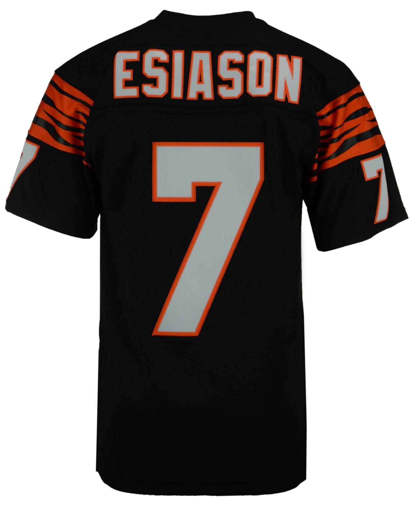 Men's Boomer Esiason Cincinnati Bengals Replica Throwback Jersey
