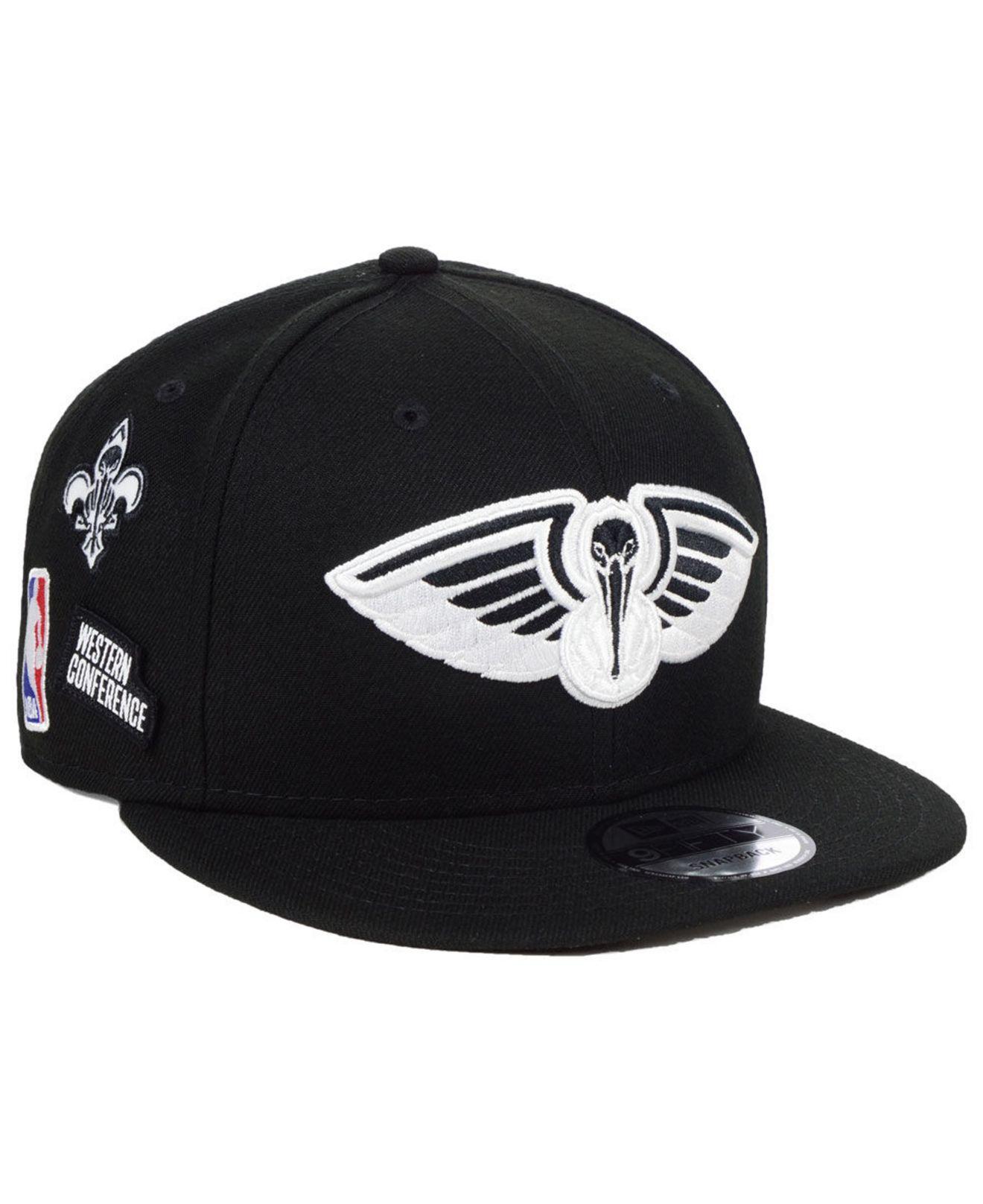 pretty nice 871ca d9b91 KTZ. Men s Black New Orleans Pelicans Night Sky 9fifty Snapback Cap