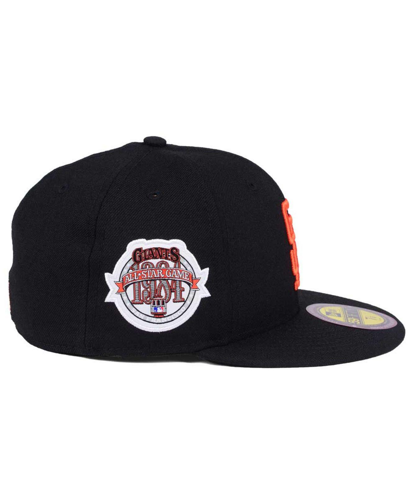 best service 5666f 6873c KTZ San Francisco Giants Ultimate Patch All Star Collection 59fifty ...