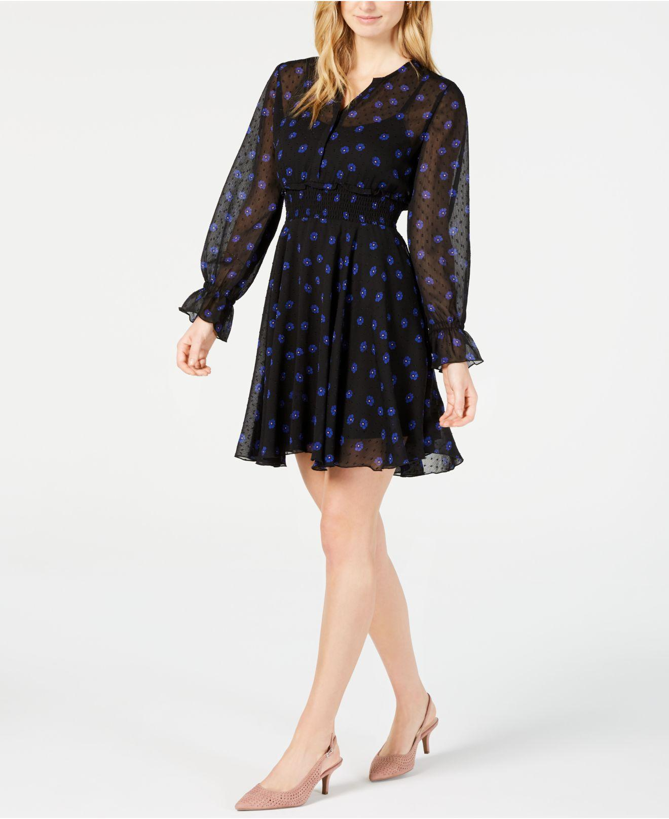9c965aad231a Lyst - Maison Jules Floral-print Fit   Flare Dress