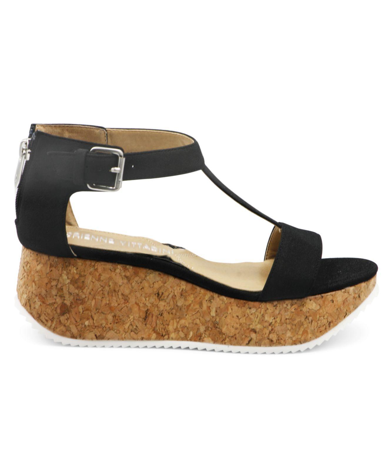 039f6f1a4975 Lyst - Adrienne Vittadini Chaps Platform Wedge Sandal in Black