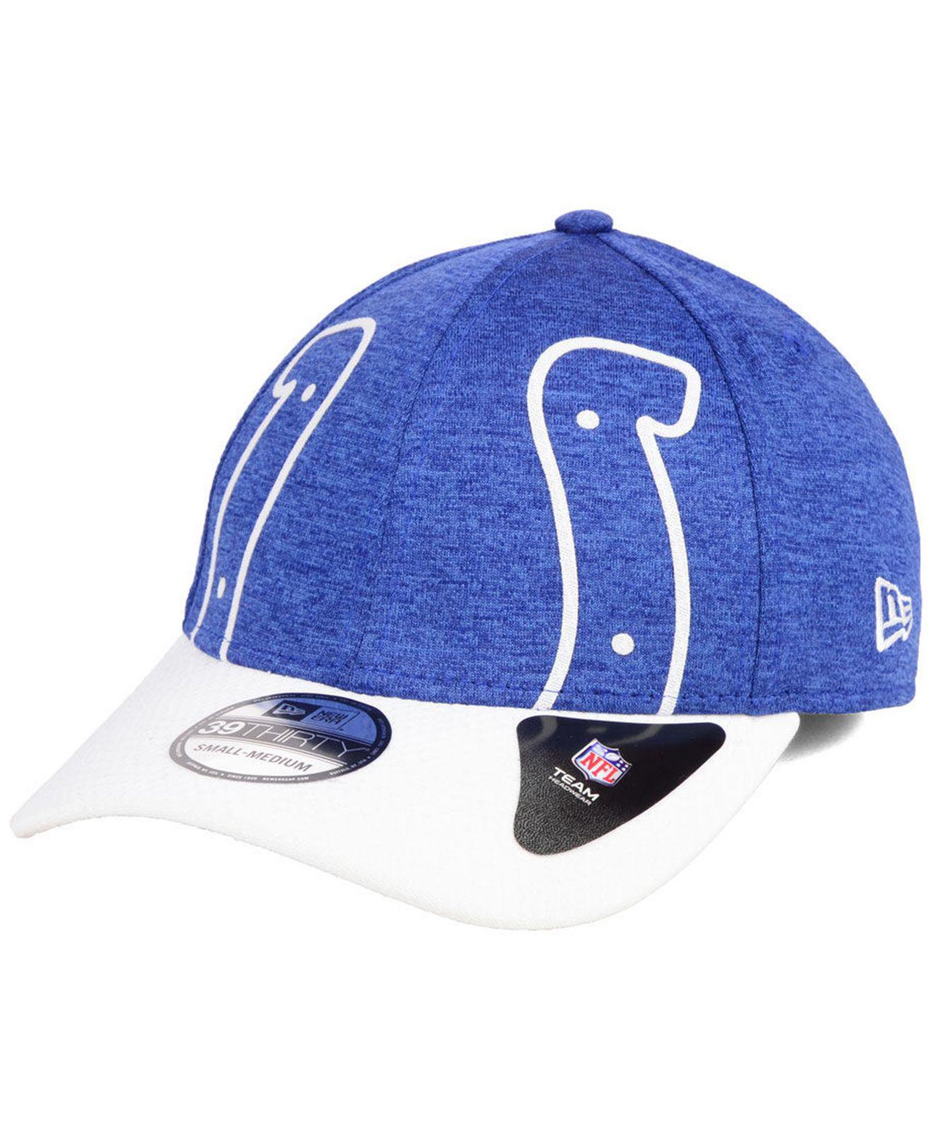 62989ab471c Lyst - KTZ Indianapolis Colts Oversized Laser Cut Logo 39thirty Cap ...