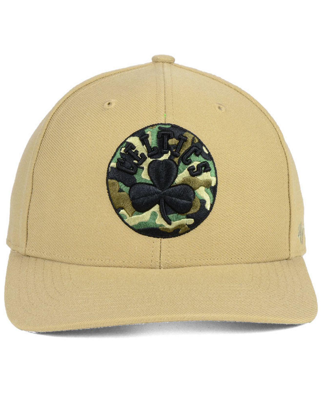 meet c8c26 d5849 spain lyst 47 brand boston celtics camfill mvp cap for men 6d41f fd5f9