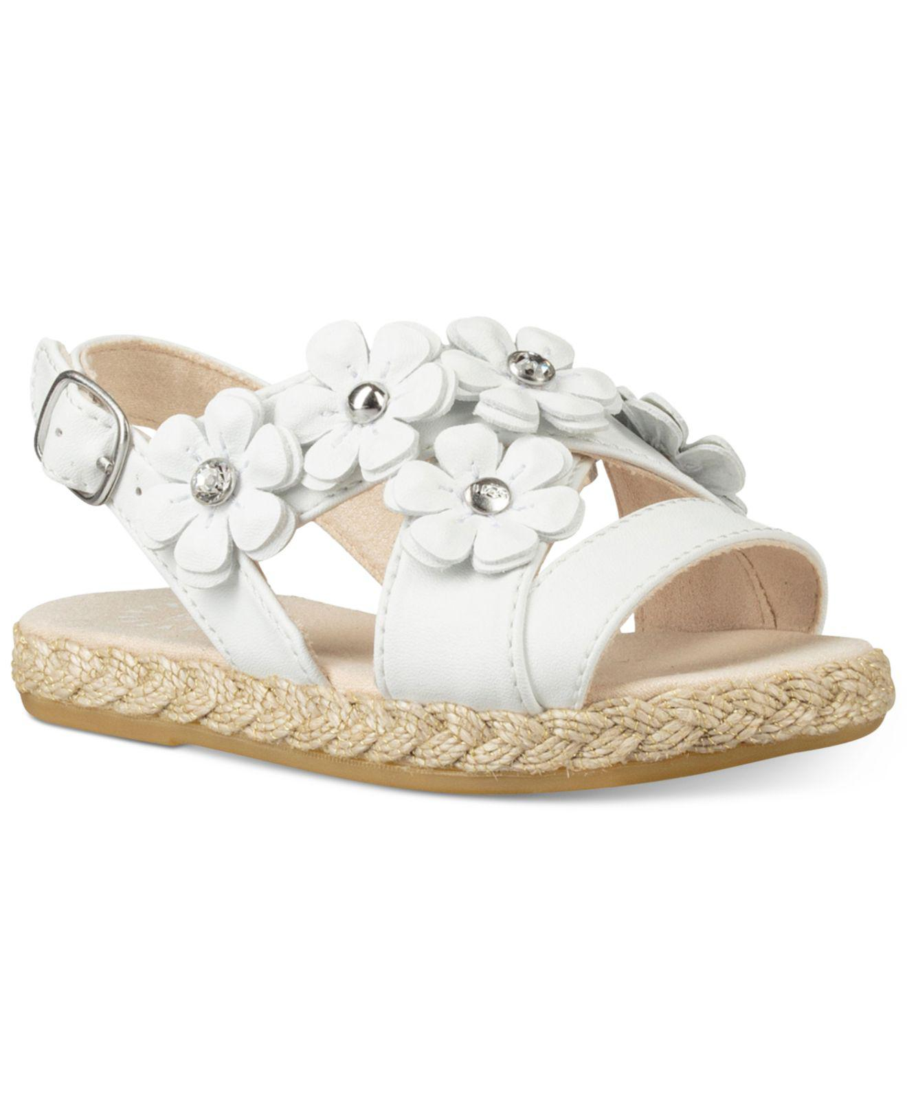 b1c007ac7d8 Lyst - UGG Toddler Allairey Sandals in White