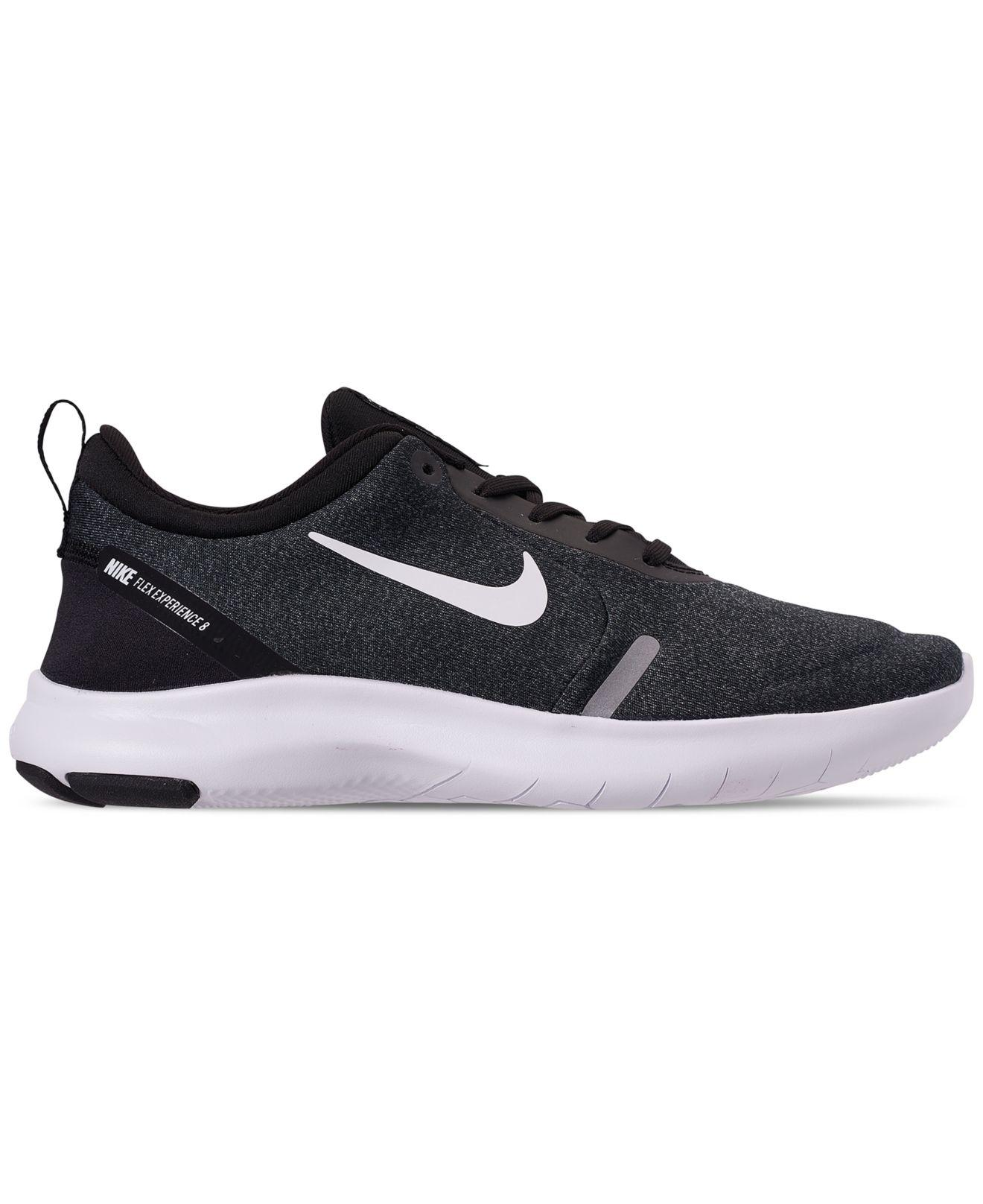 09e8d332e146 Lyst - Nike Flex Experience Run 8 Wide Running Sneakers From Finish Line in  Black