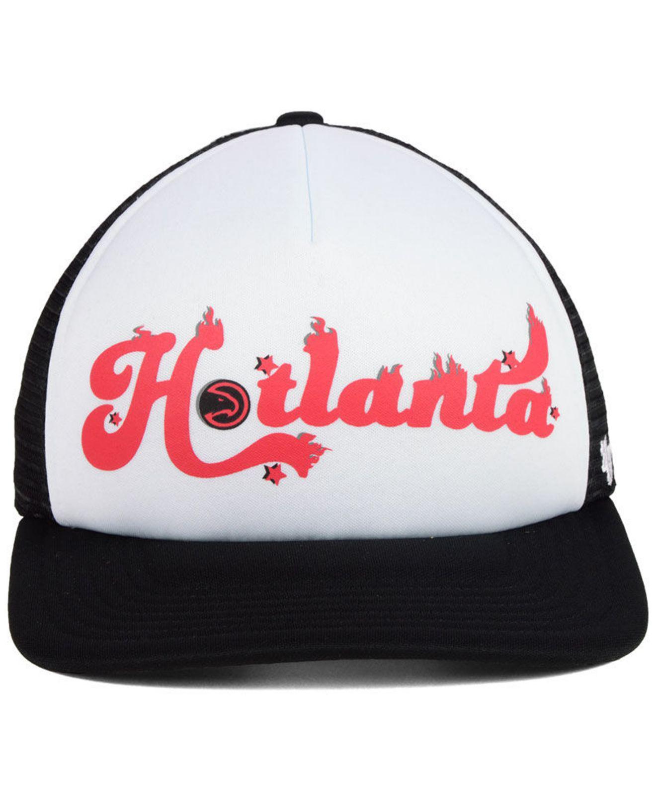 finest selection 55269 1f0ac Lyst - 47 Brand Atlanta Hawks Region Mesh Mvp Cap for Men