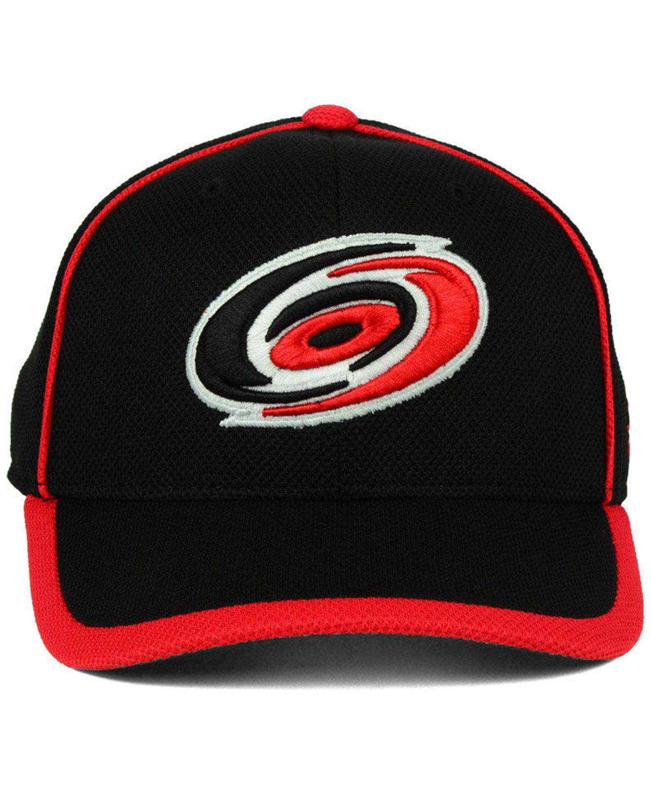 Lyst - Adidas Carolina Hurricanes Clipper Adjustable Cap in Black for Men 5b4d9ec16972