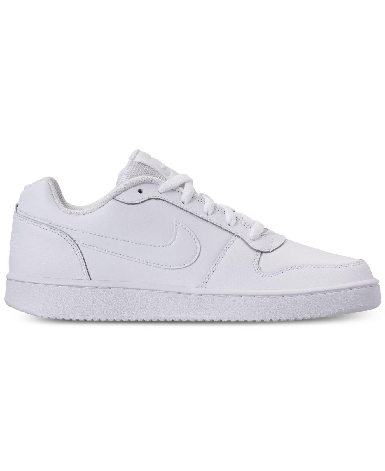832dd5cec89 Lyst - Nike Ebernon Low Casual Sneakers From Finish Line in White for Men