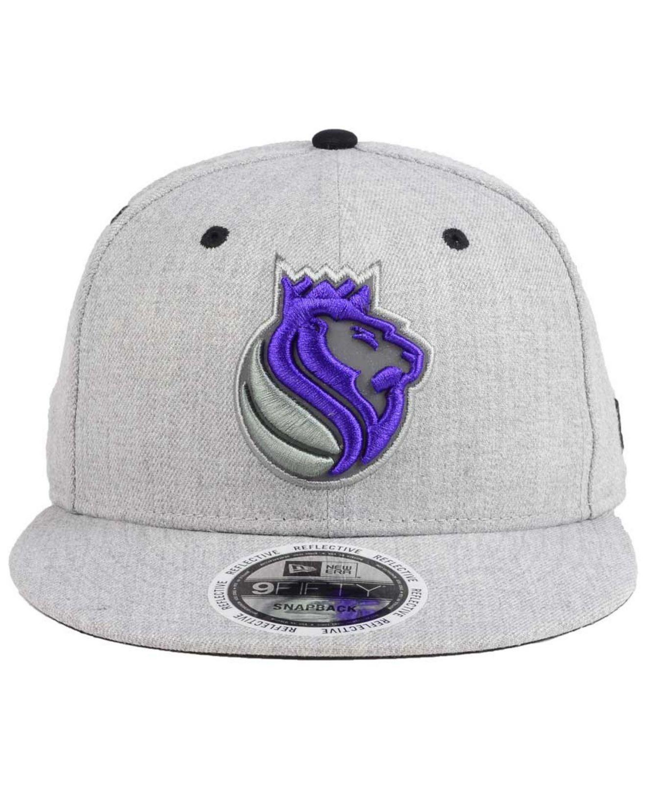 cheap for discount f5307 ebd04 ... purchase lyst ktz sacramento kings total reflective 9fifty snapback cap  for men save 20.0 75e7a 7a6bf