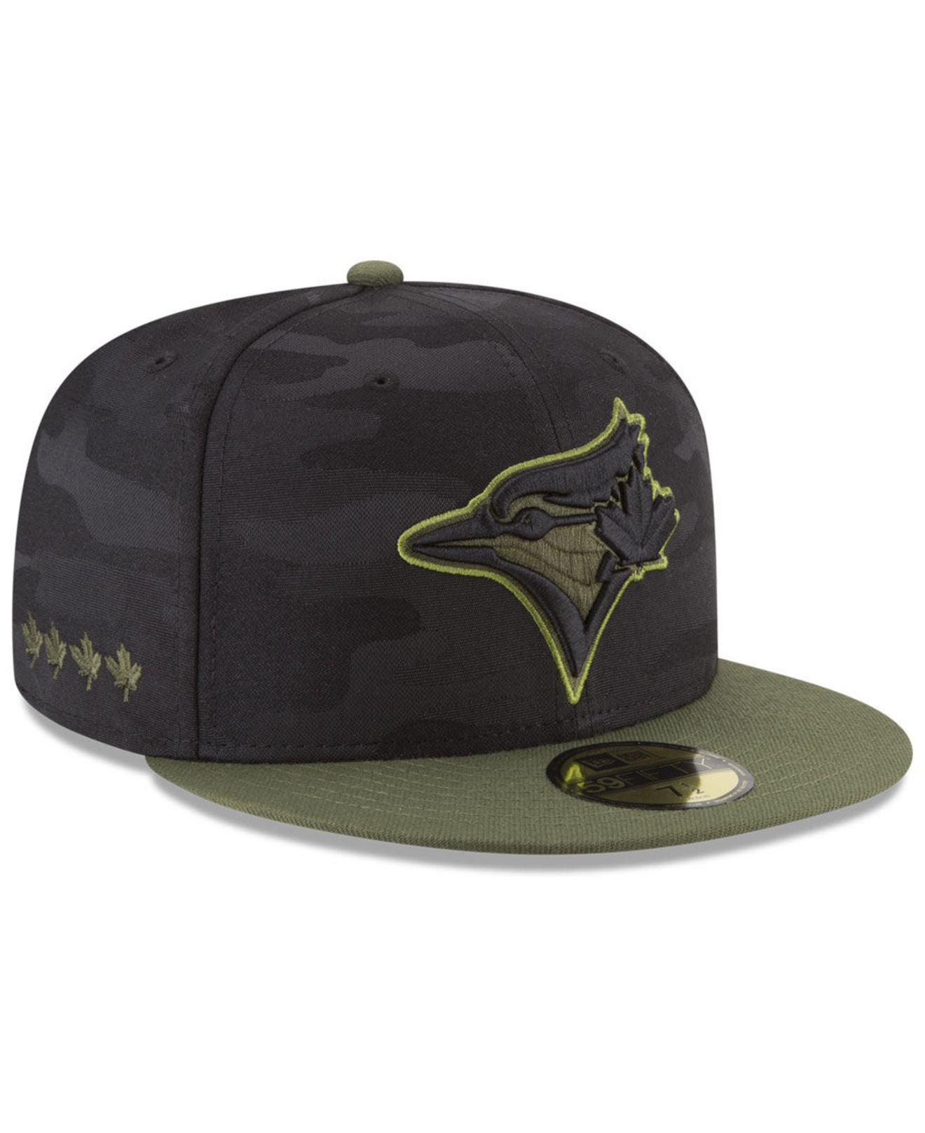 finest selection c90aa 95cbc ... cheap ktz. mens toronto blue jays memorial day 59fifty fitted cap d4cb2  705f4