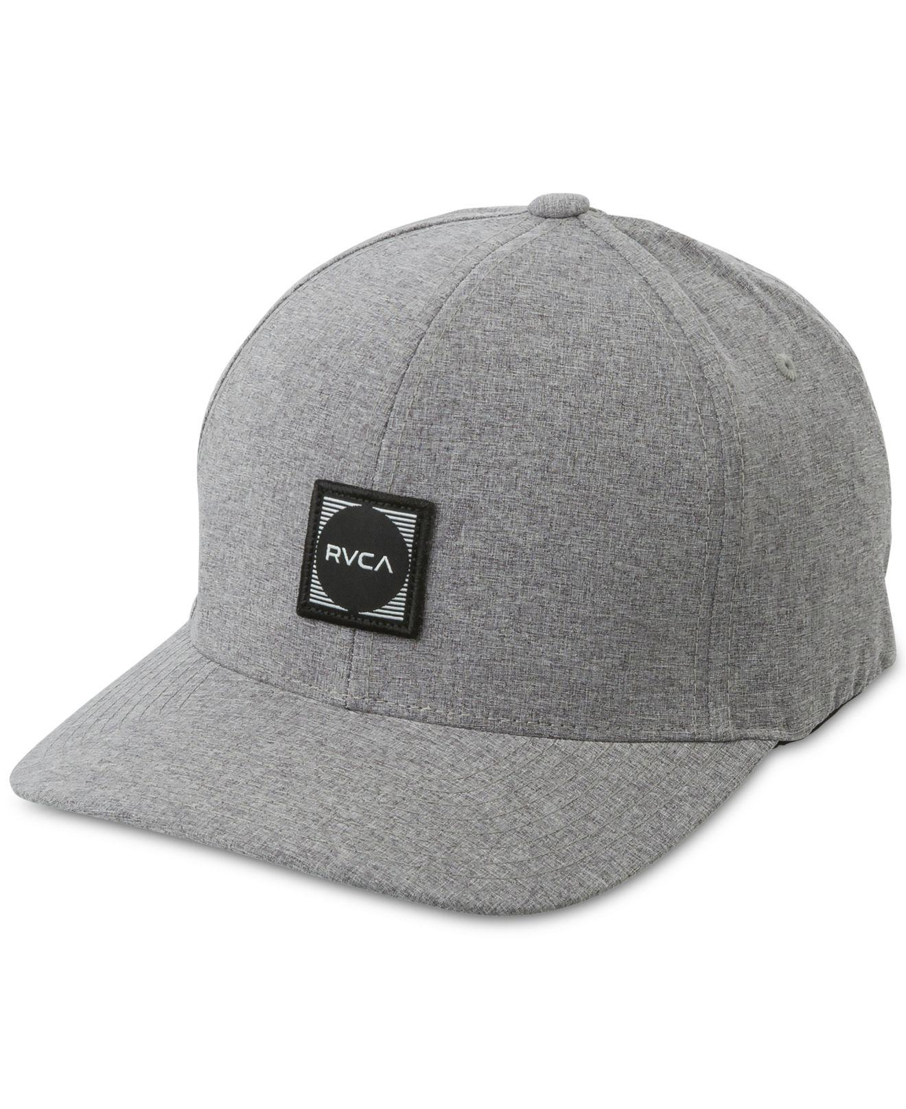 2fb61a32f Lyst - RVCA Flex-fit Scores Hat in Gray for Men