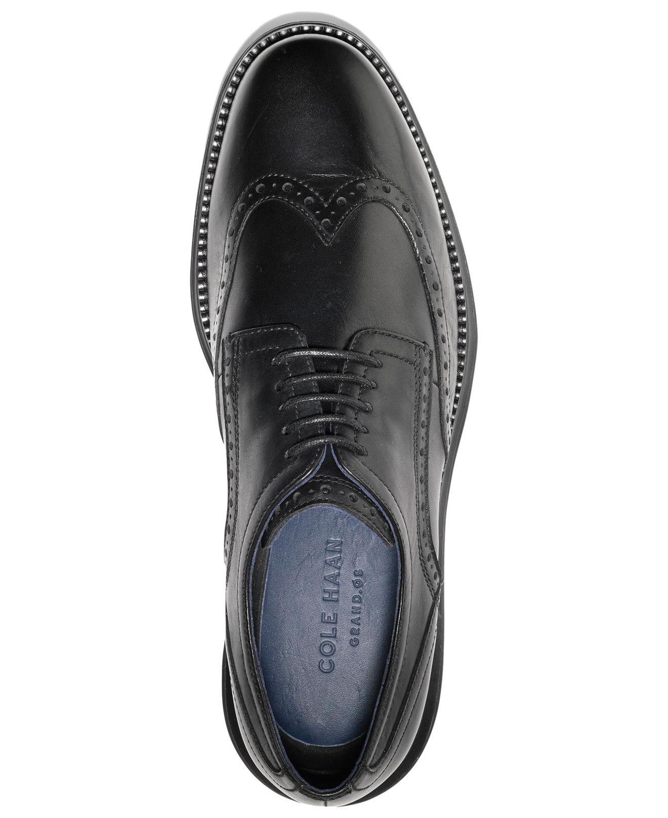 f9c53c0df03bbc Lyst - Cole Haan Original Grand Wing Oxfords in Black for Men