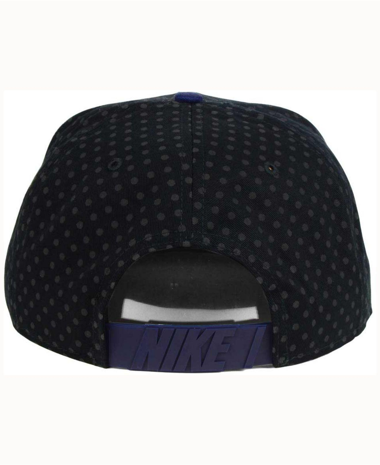 lace up in really comfortable speical offer Nike Cotton Local Dna Seasonal True Snapback Cap in Blue - Lyst
