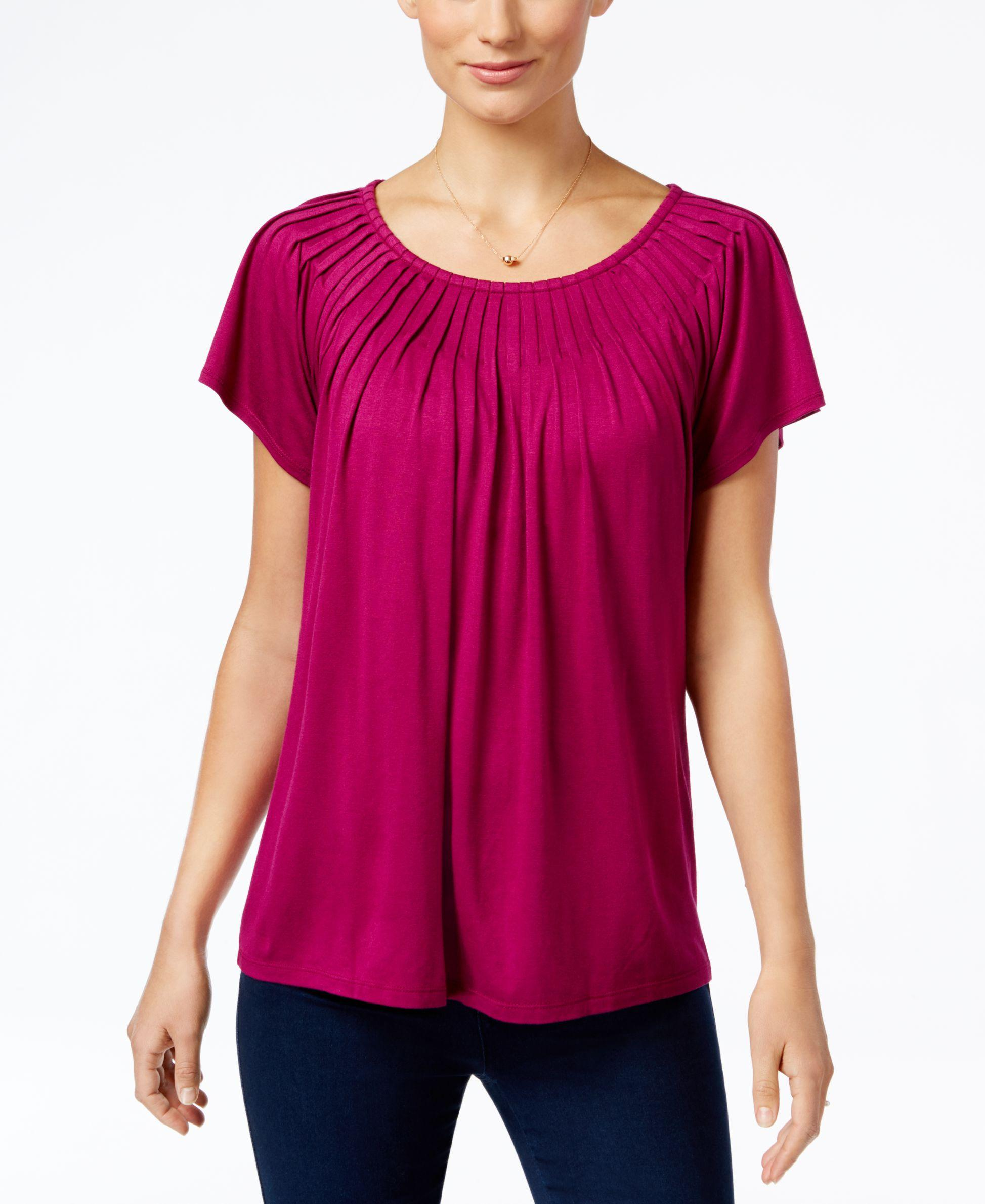 Product Description Infuse your casual look with fresh chic in this plus size top from Style & Co.