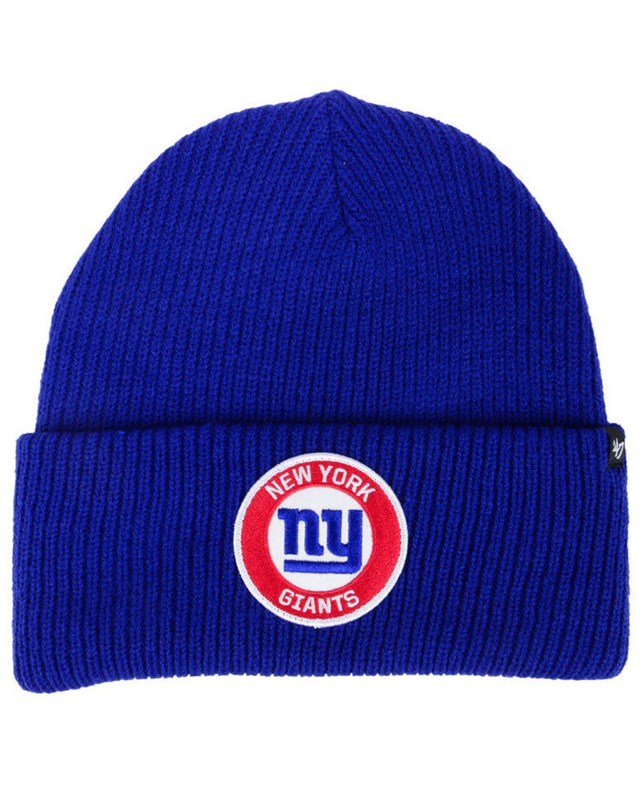 first rate 693c5 89ad1 ... aliexpress 47 brand. mens blue ice block cuff knit hat a78d1 9b182