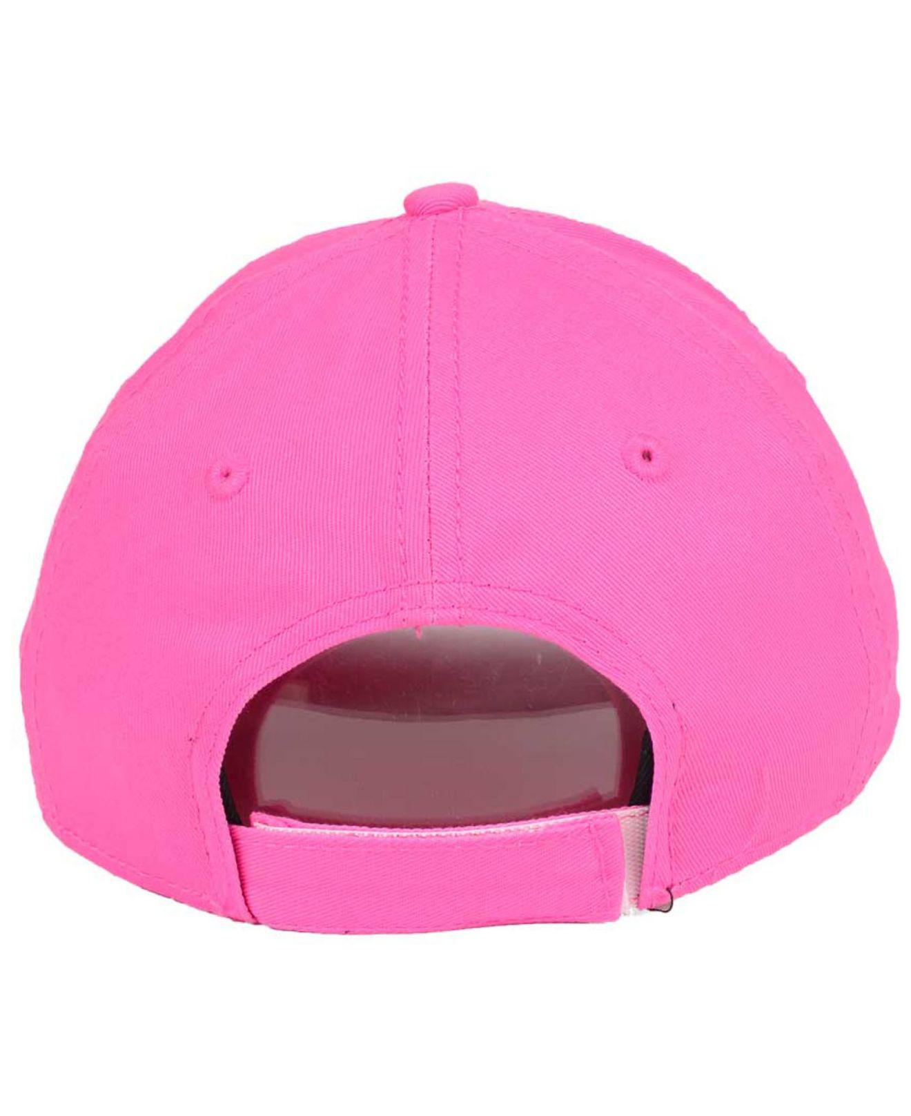 timeless design b1535 dbbef Lyst - KTZ Tampa Bay Rays Face Front Minnie 9forty Cap in Pink