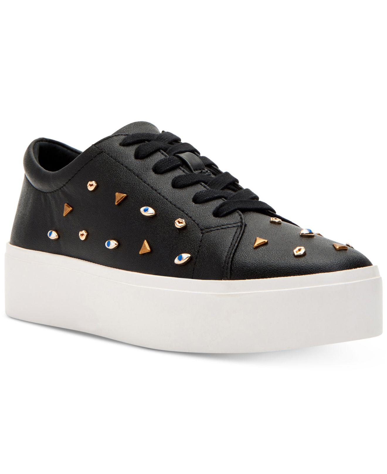 Katy Perry The Dylan Studded Flatform Sneakers abl0v