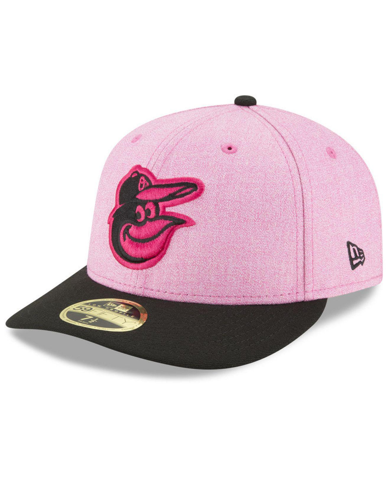 size 40 a04d5 0de4b ... reduced ktz. womens pink baltimore orioles mothers day low profile 59fifty  fitted cap fbf21 93aff