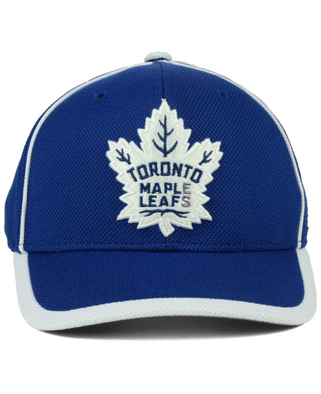 23773cd656a Lyst - Adidas Toronto Maple Leafs Clipper Adjustable Cap in Blue for Men
