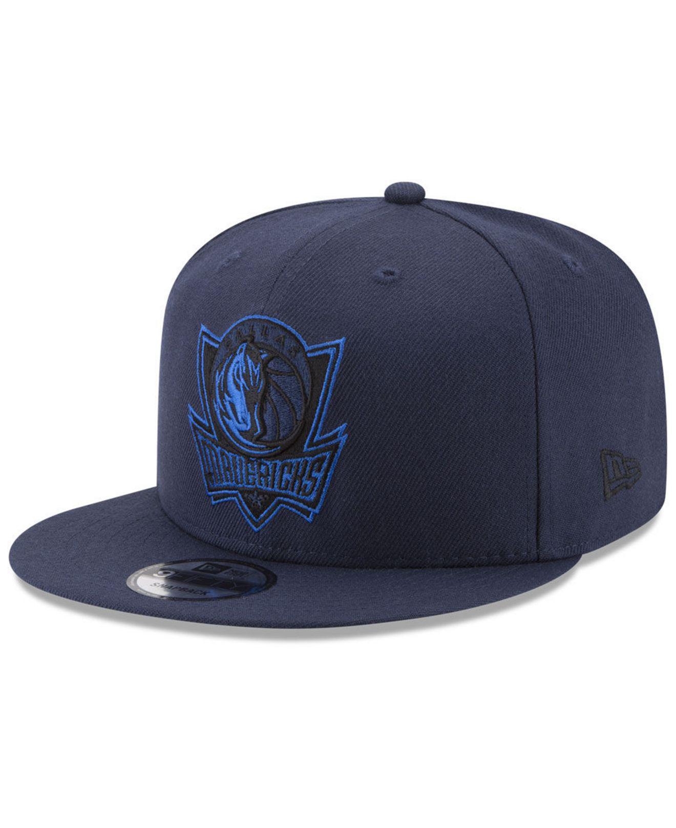 df222adcb46 Lyst - Ktz Dallas Mavericks All Colors 9fifty Snapback Cap in Blue ...