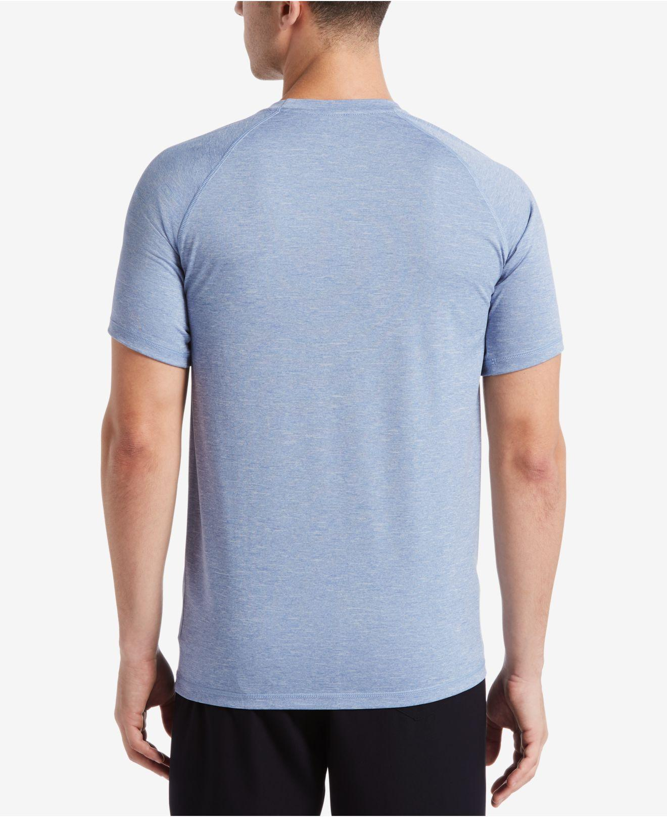 a4fbede6c Lyst - Nike Hydroguard Upf 40 Sun Protection Swim T-shirt in Blue for Men