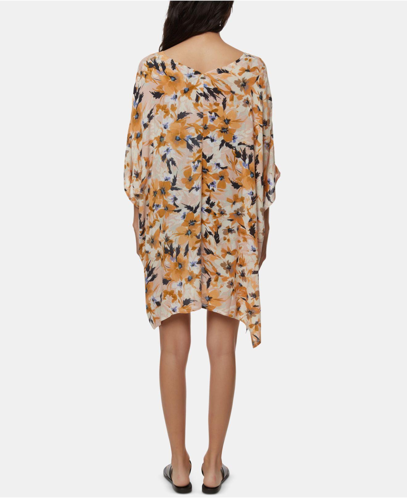 ONEILL Juniors Kimmy Printed Woven Sleeved Dress