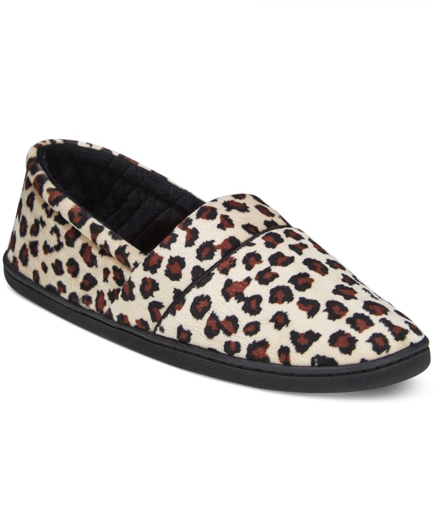 Charter Club Microvelour Memory Foam Slippers Only At