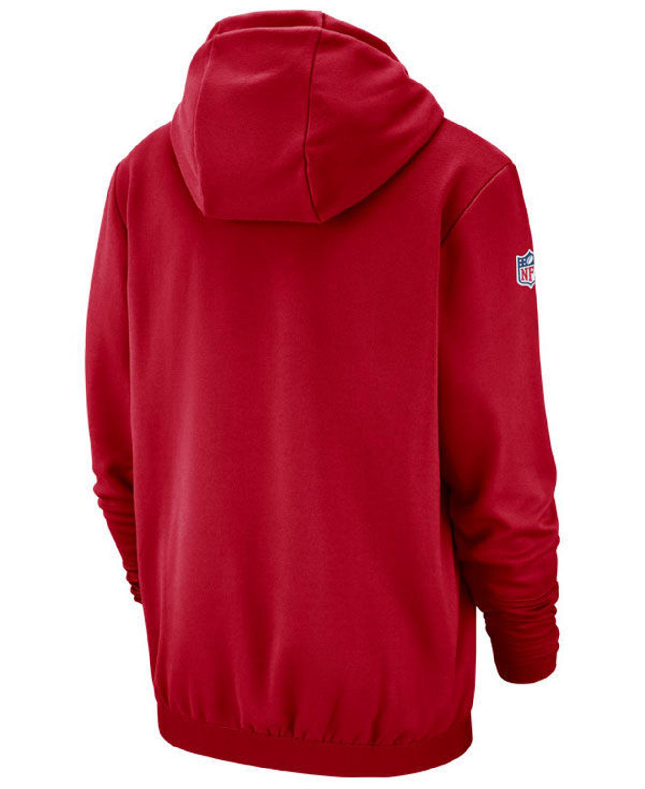 1dc30ca55 Lyst - Nike Tampa Bay Buccaneers Sideline Player Local Therma Hoodie in Red  for Men