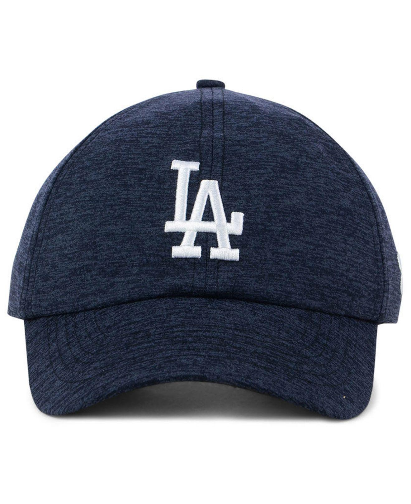 check out b121f e351d ... purchase lyst under armour los angeles dodgers renegade twist cap in  blue 886a1 2b68e