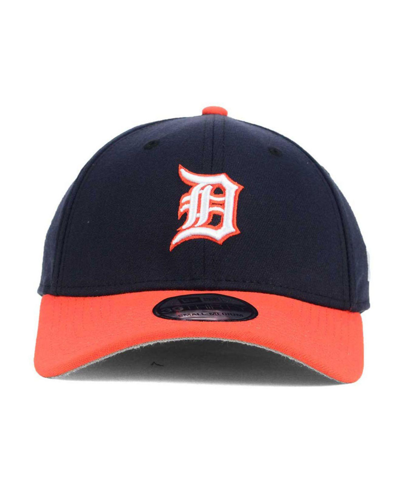 release date 3a3be 96be5 inexpensive lyst ktz detroit tigers core classic 39thirty cap in blue for  men save 31.034482758620683 bf3cc