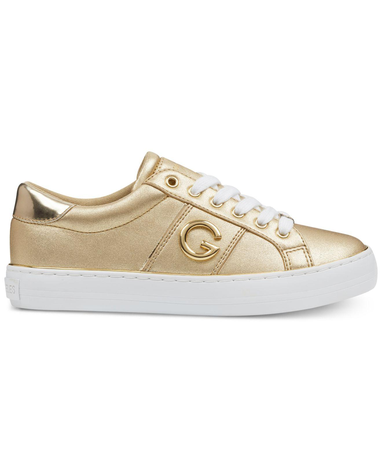 G by Guess Grandy Sneakers in Gold