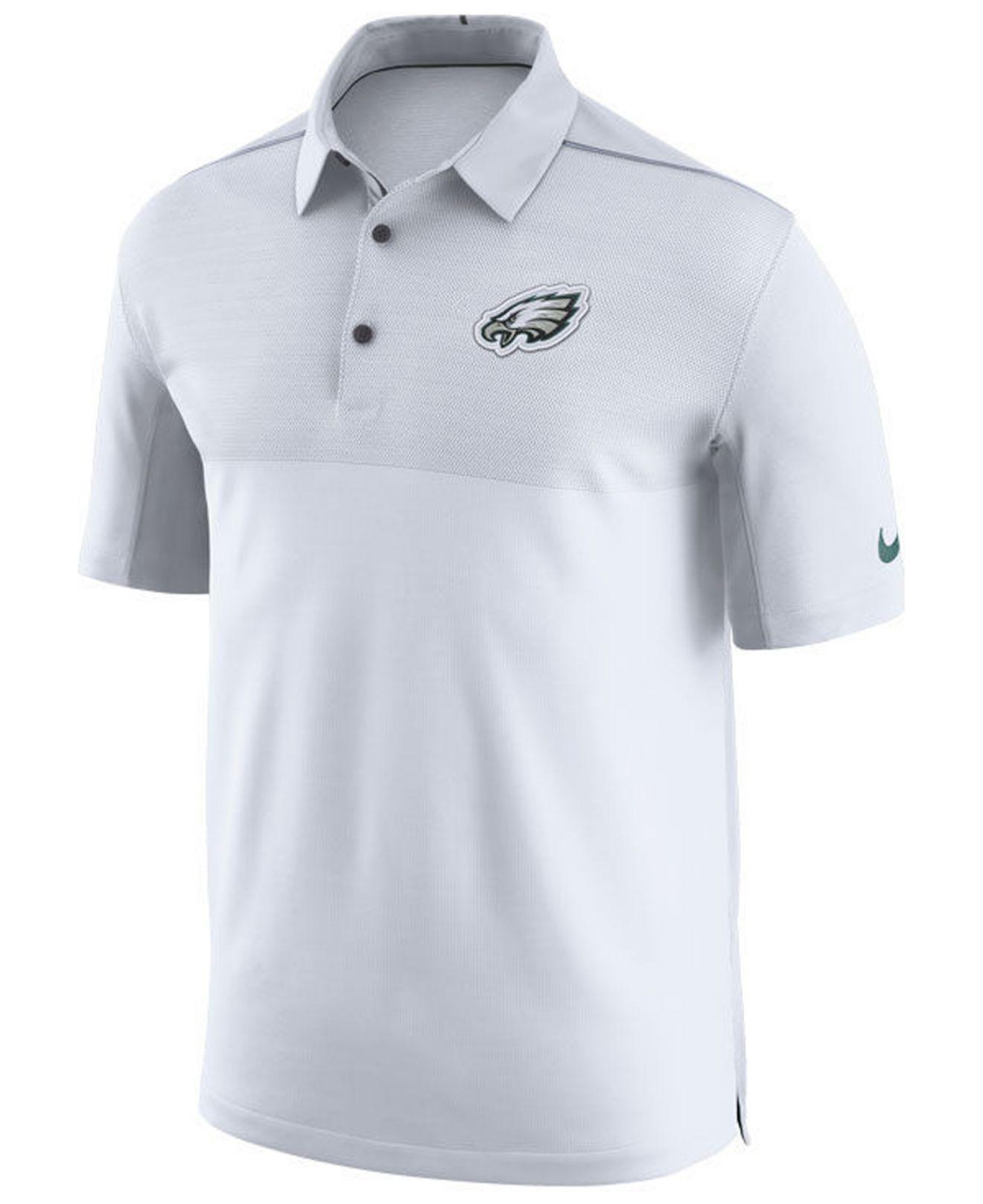 e60e55316 Lyst - Nike Philadelphia Eagles Elite Coaches Polo in Black for Men