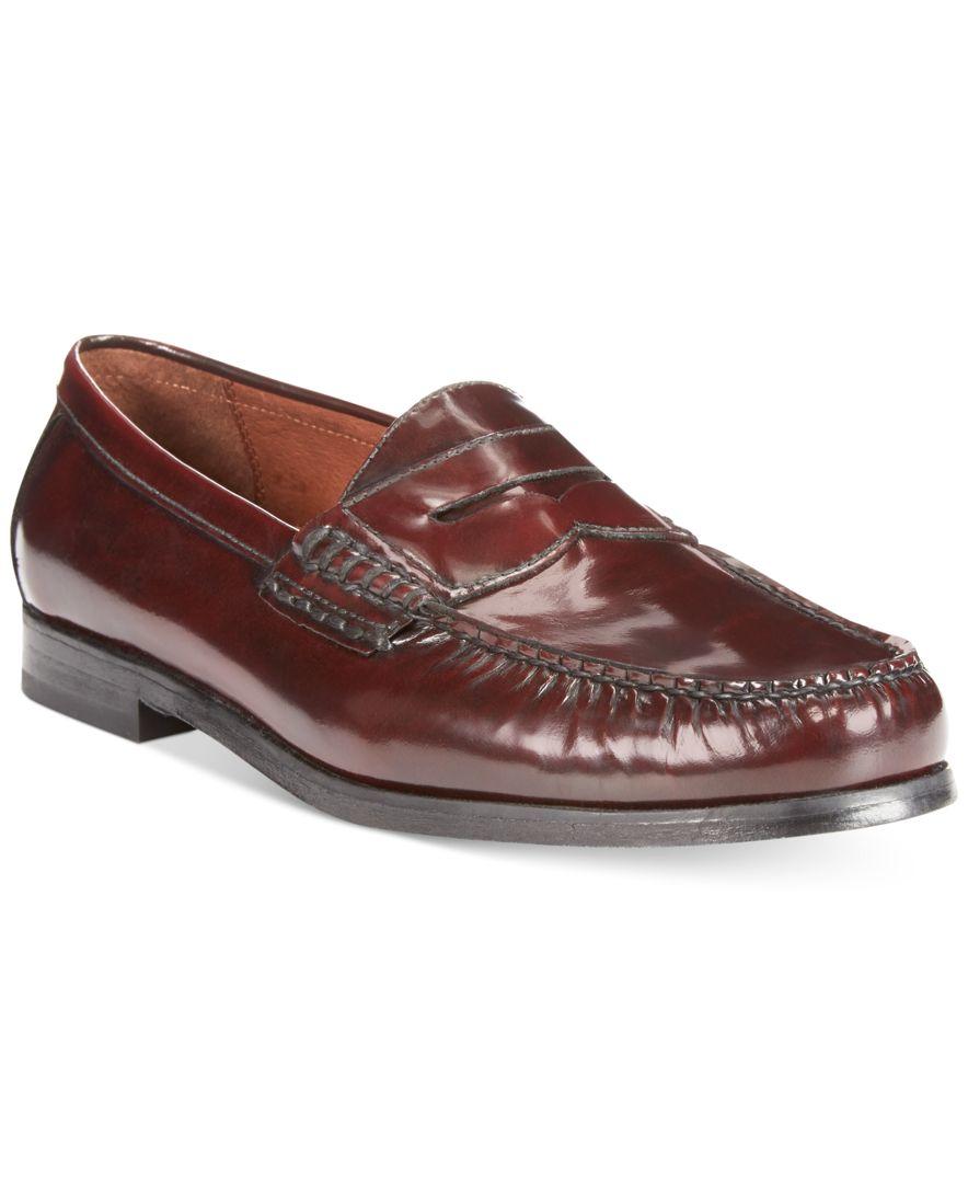 Johnston And Murphy Burgundy Dress Shoes