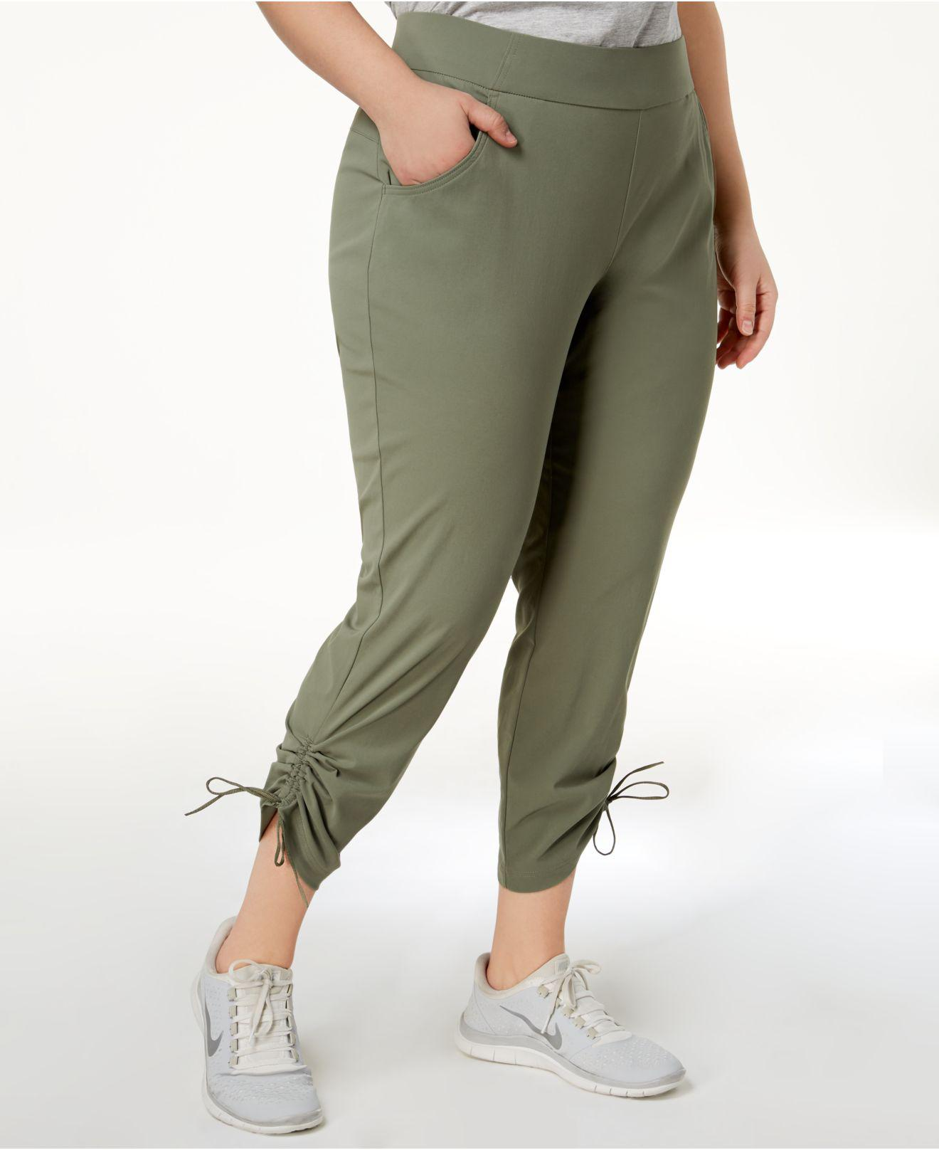 c3ec794d695 Lyst - Columbia Plus Size Anytime Casualtm Ankle Pants in Green