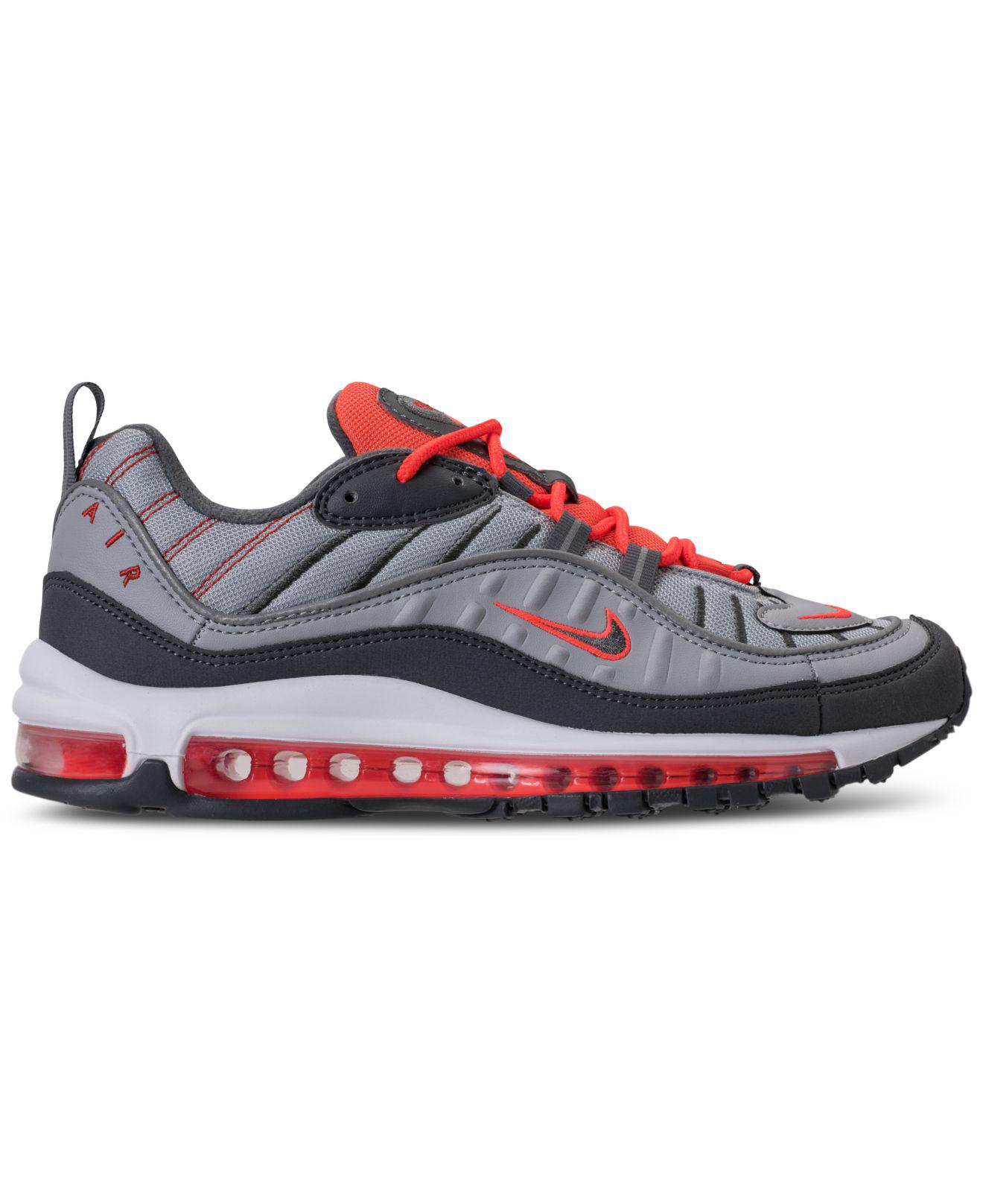 separation shoes ba893 4673f Lyst - Nike Air Max 98 Casual Sneakers From Finish Line in Gray for Men