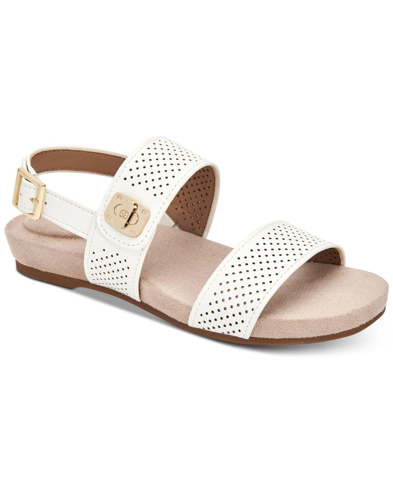 Lyst Giani Bernini Ramonaa Memory Foam Footbed Sandals