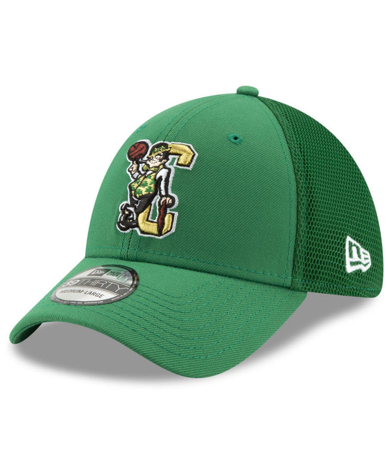 official photos b0e91 cd952 Lyst - KTZ Boston Celtics Back Half 39thirty Cap in Green for Men