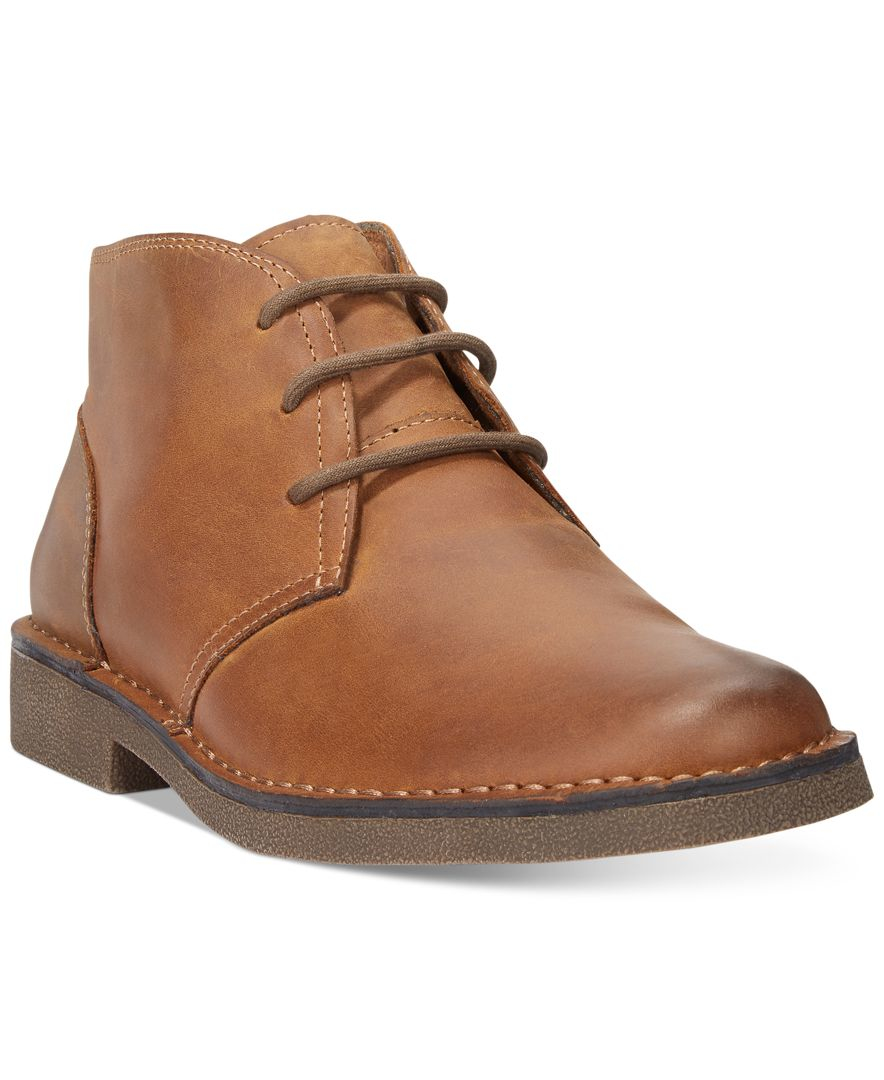 Dockers Tussock Chukka Boots In Brown For Men Lyst