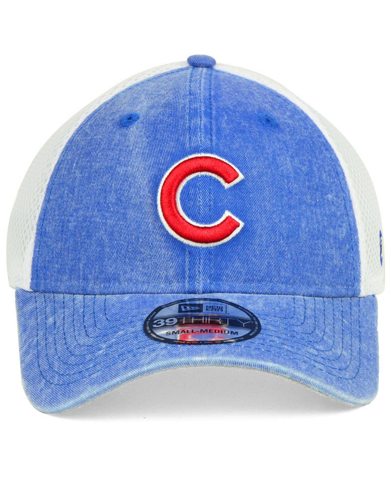 hot sale online 424db 4404c ... spain lyst ktz chicago cubs hooge neo 39thirty cap in blue for men  7e8ff 5e616