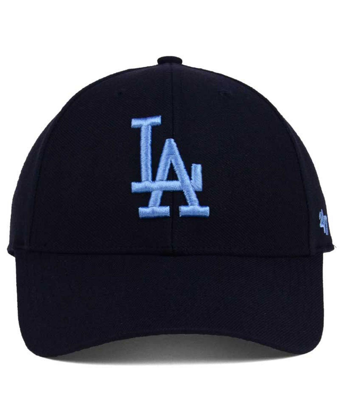new product ea558 80847 Lyst - 47 Brand Los Angeles Dodgers Mvp Cap in Blue for Men