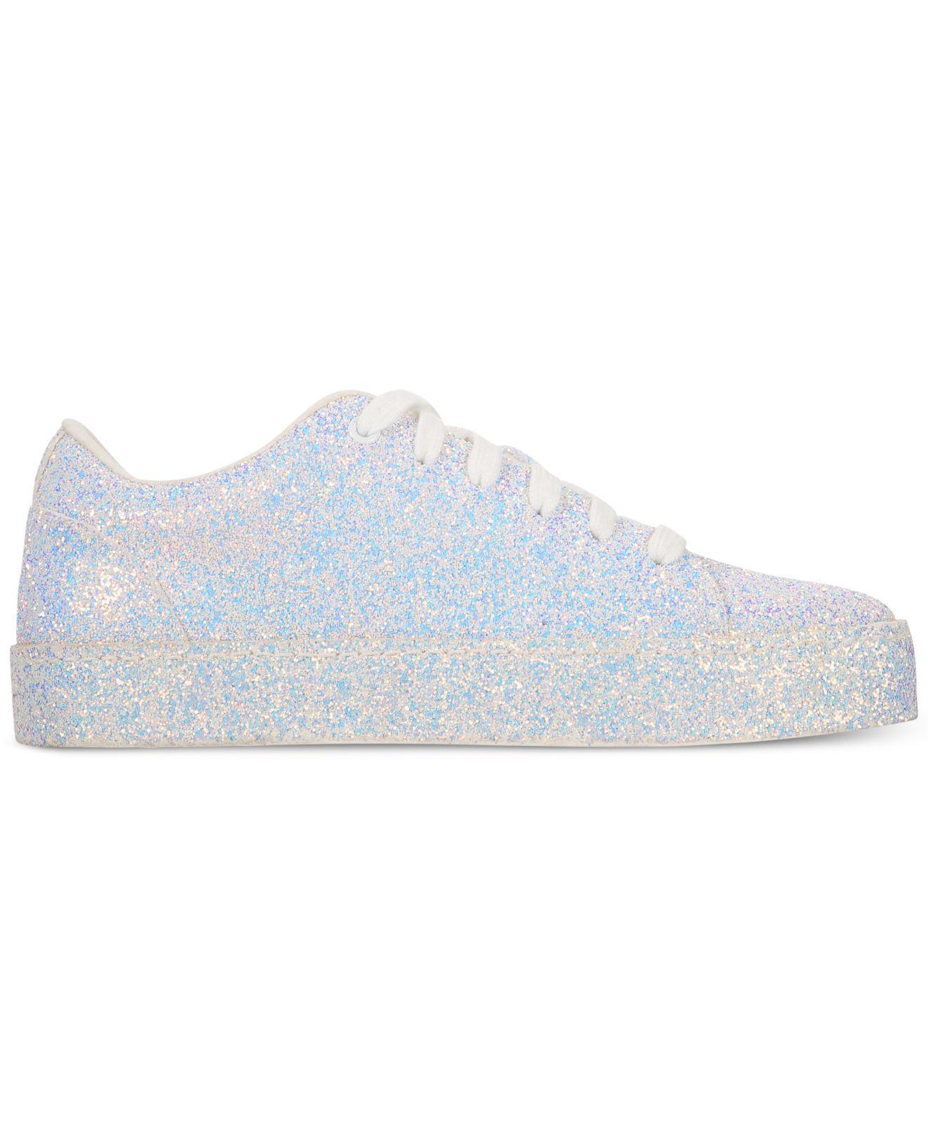 6f8ecf5ddb ALDO Eltivia Glitter Sneakers in White - Lyst