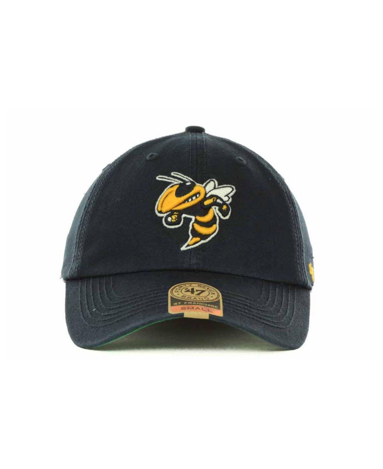 elegant shoes low priced new authentic 47 Brand Cotton Georgia Tech Yellow Jackets Franchise Cap in Navy ...