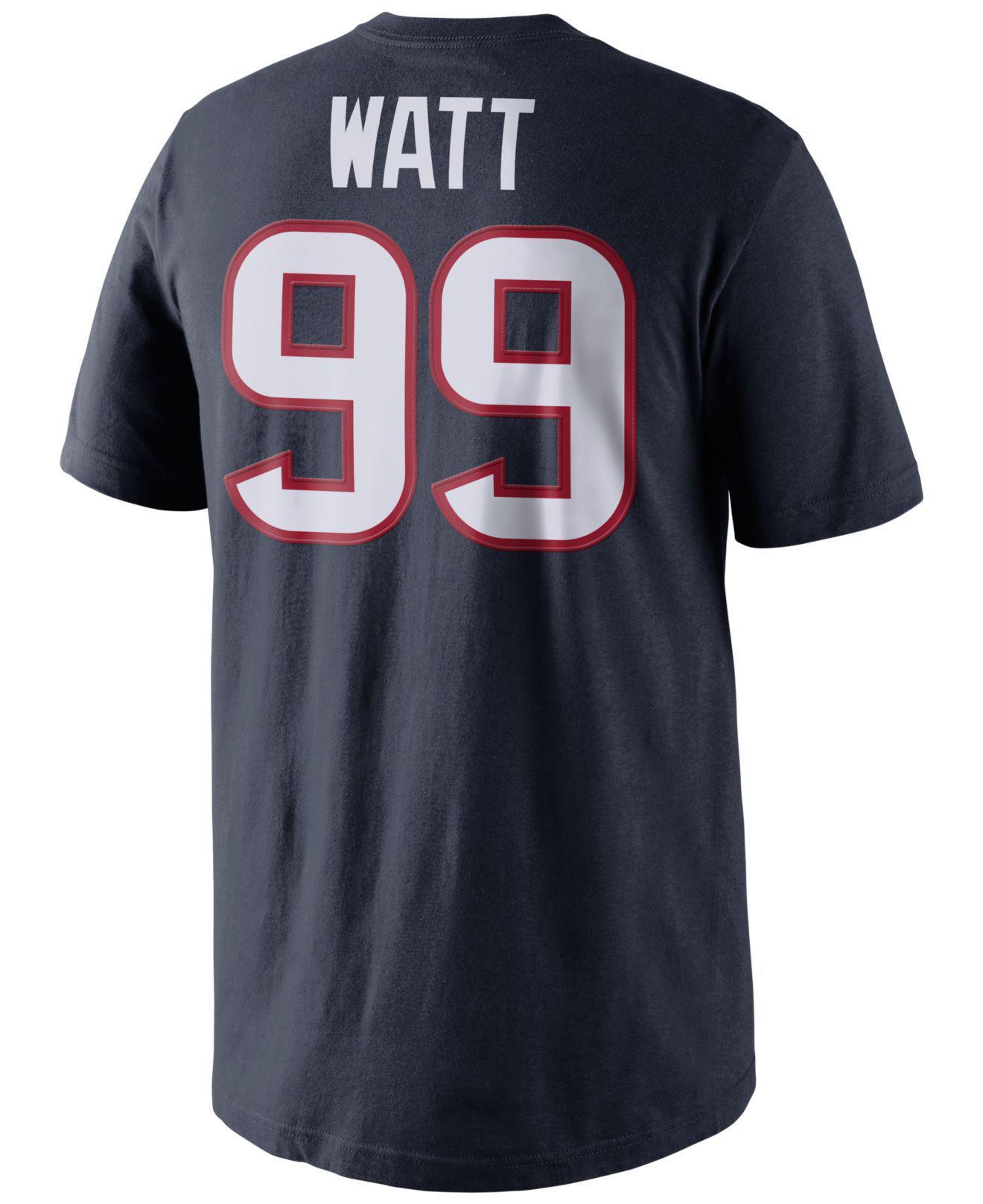 25ed7299ced Lyst - Nike Men s Short-sleeve Jj Watt Houston Texans Pride T-shirt ...