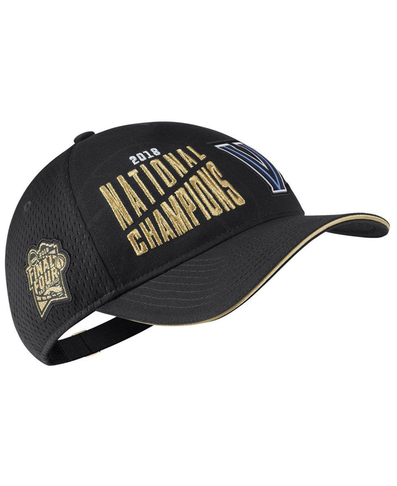 6cdbe1521f4 Lyst - Nike Villanova Wildcats Basketball National Champs Cap in ...