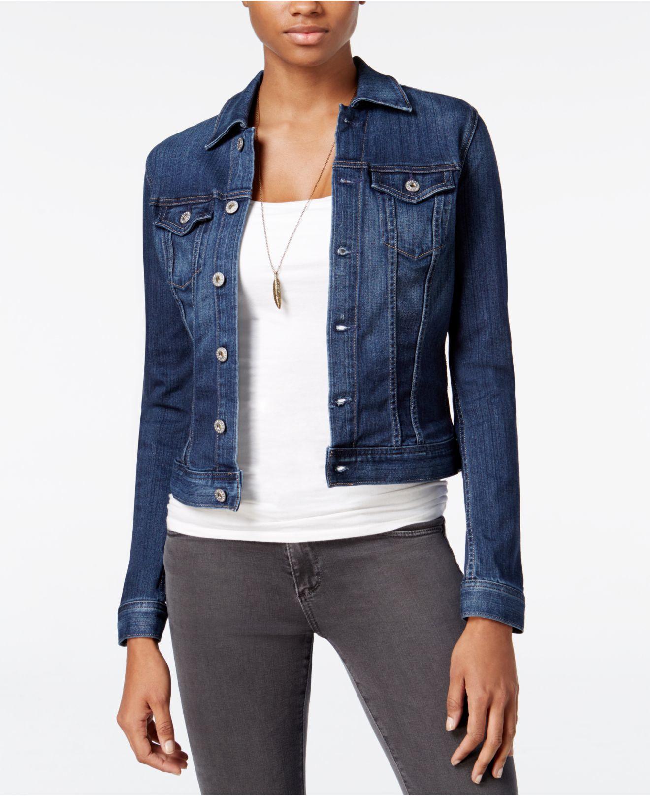 Lyst Ag Jeans Robyn Torrent Wash Denim Jacket In Blue