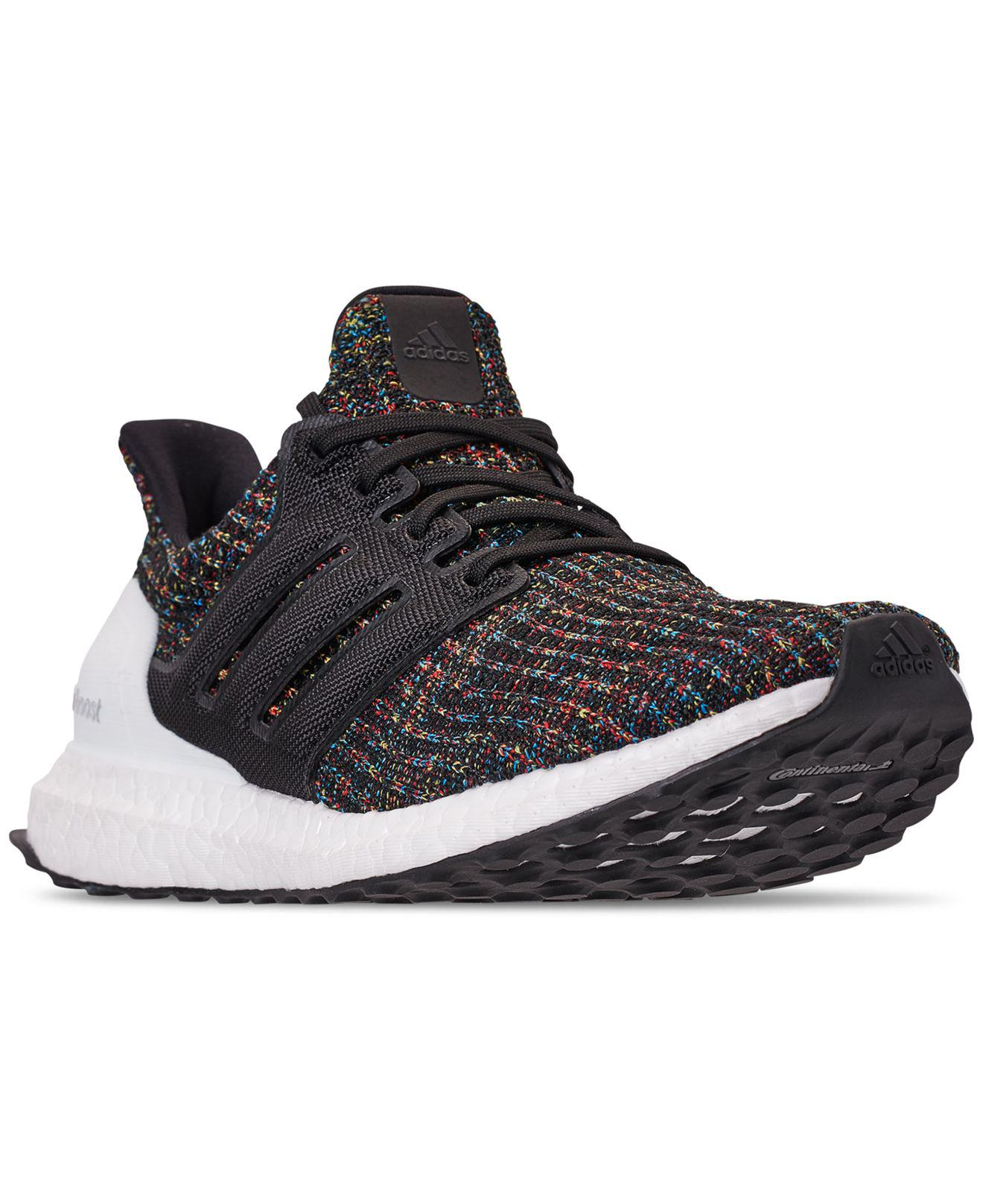 Lyst - adidas Men s Ultraboost Knit Low-top Sneakers in Black for Men b153d10e0ed2
