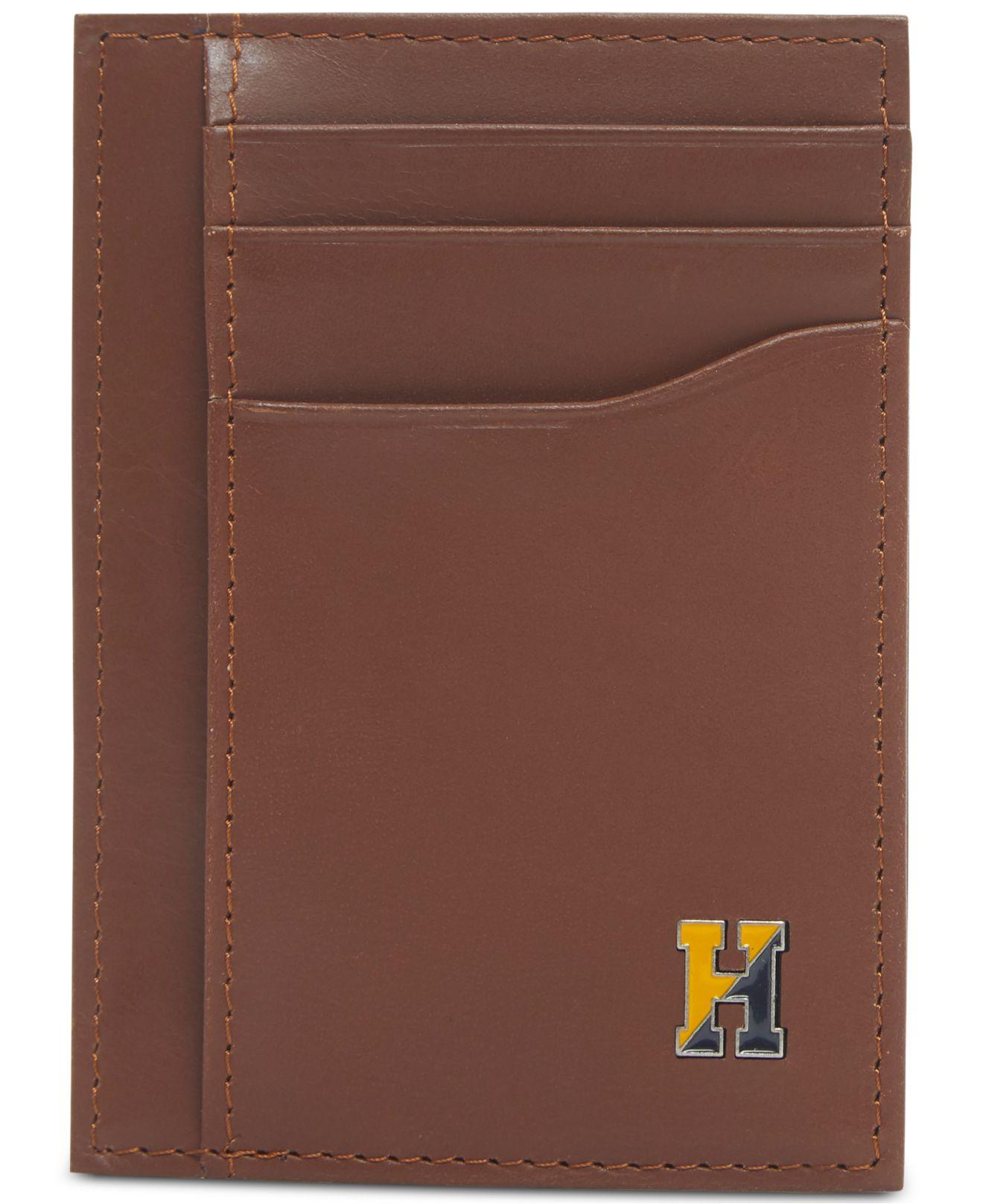 cefbaeb0d9 Tommy Hilfiger - Multicolor Barnaby Front-pocket Rfid Leather Wallet for Men  - Lyst. View fullscreen