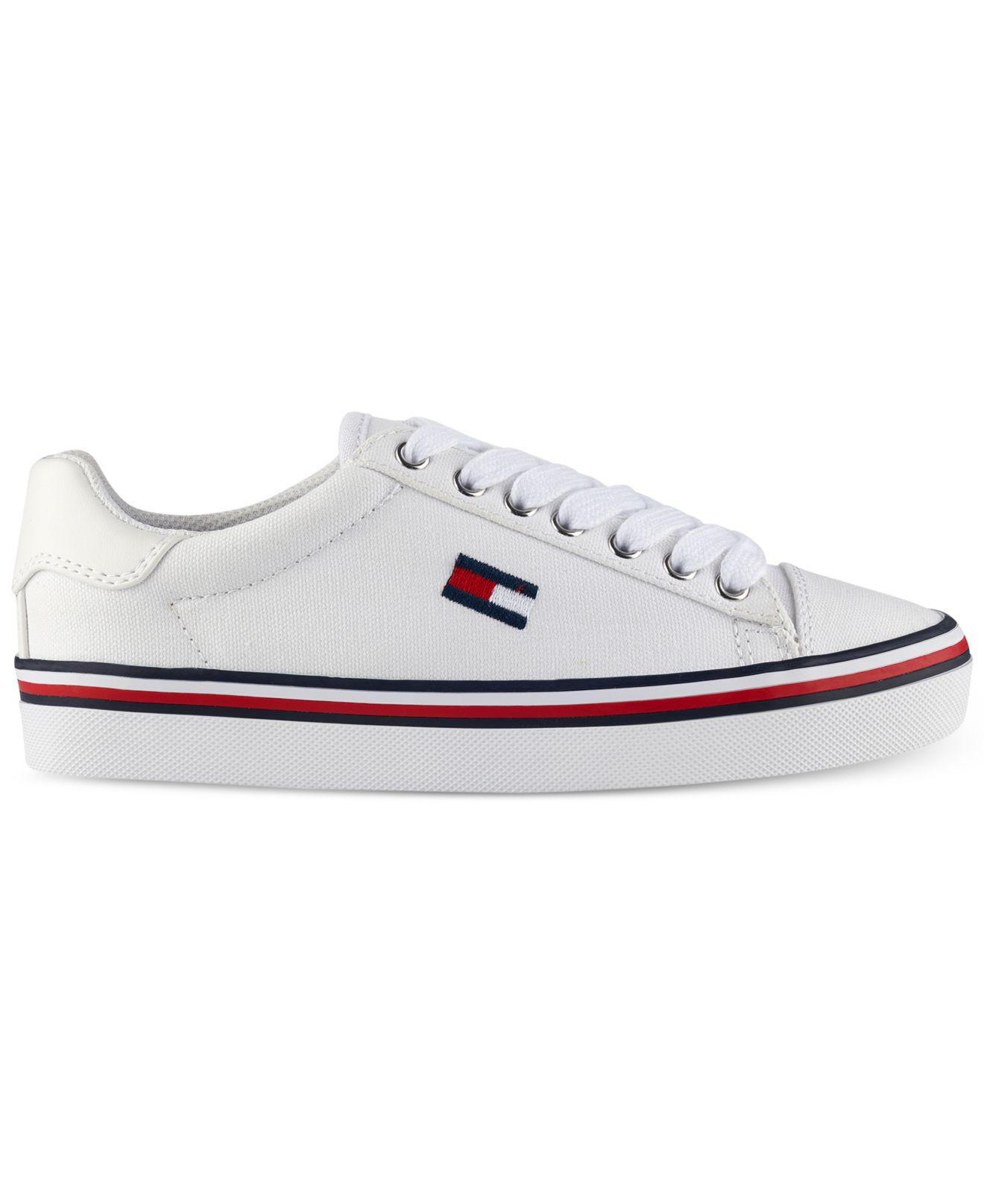 ff03fcf1d3d6b4 Lyst - Tommy Hilfiger Fressian Lace-up Sneakers in White