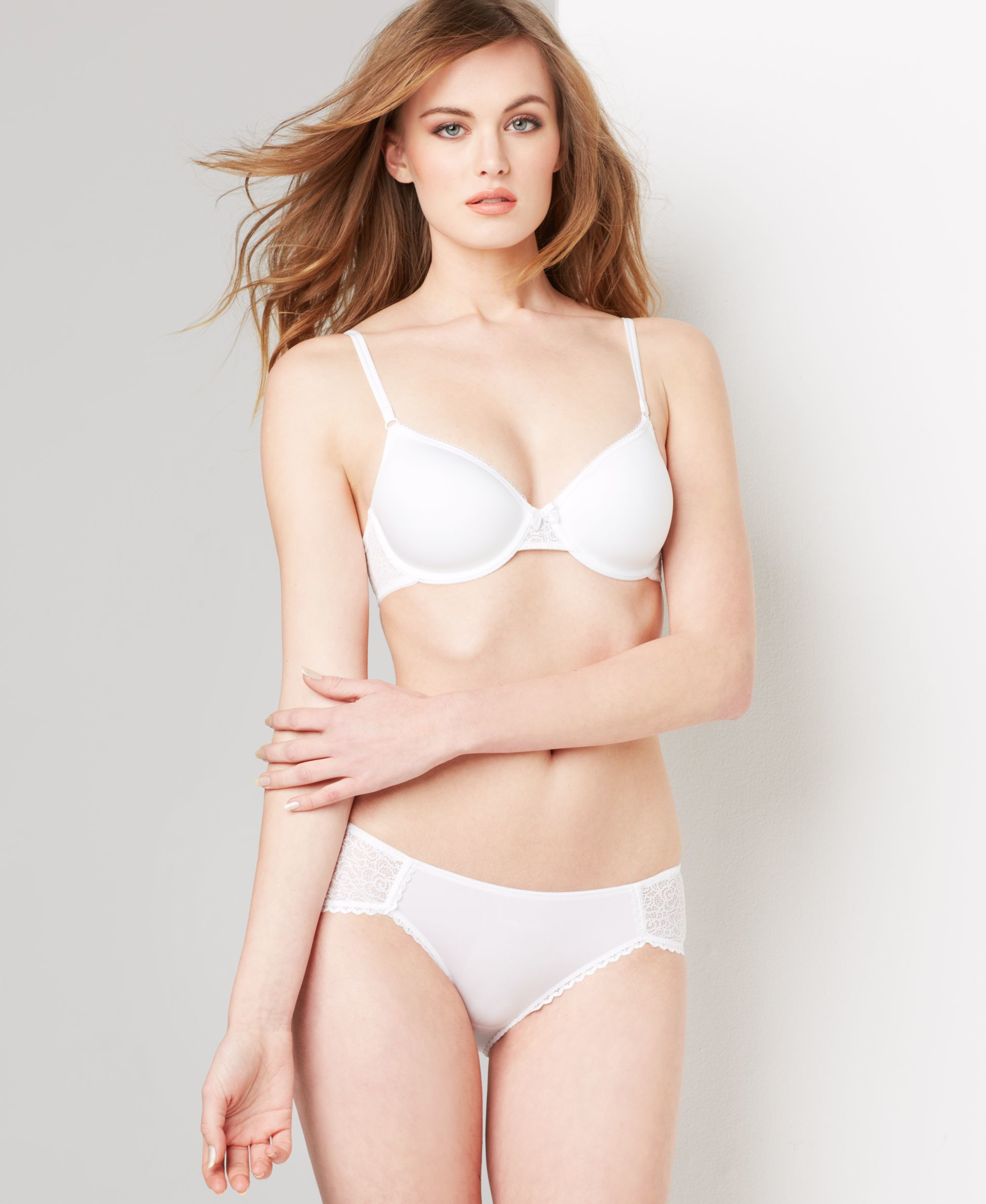 B.tempt'd By Wacoal B.awesome Contour Bra 953231 in White | Lyst