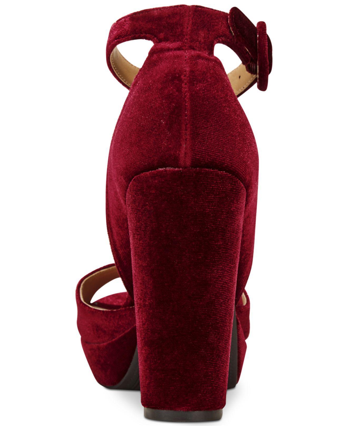b8642c49bf American Rag Reeta Block-heel Platform Sandals, Only At Macy's in ...